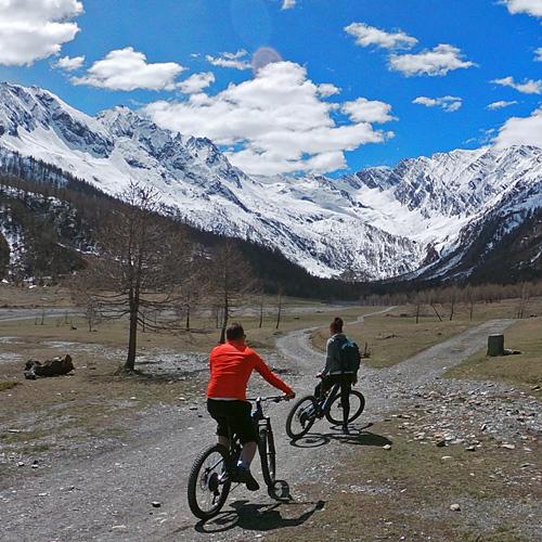 Escursioni e Tour in MTB in Val Pellice, Piemonte